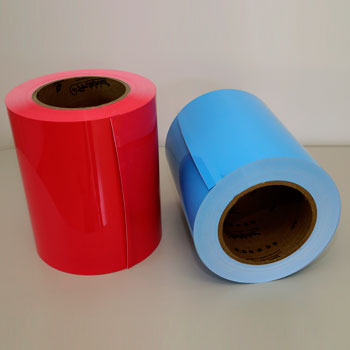 Two-colored HIPS Compact Sheets for Packaging