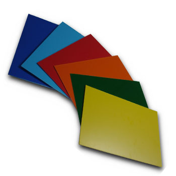 Two-colored HIPS Compact Sheets
